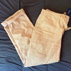 Forever 21 Khaki Color Cargo Pants NWT